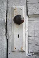 détail de la porte photo