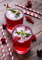 boisson froide aux baies photo