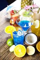 cocktails, boisson alcoolisée photo