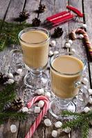 boisson chaude aux guimauves