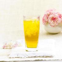 boissons aux herbes thaï chrysanthème photo