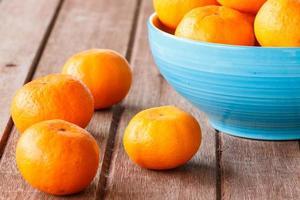 orange sur bois photo