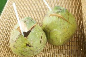 boissons à la noix de coco photo