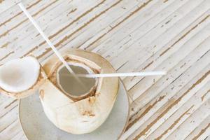 boisson à la noix de coco