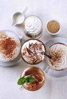 boissons au café