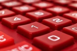 nombre sur la calculatrice