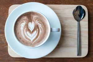 boisson au chocolat chaud photo