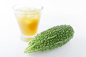 melon amer avec boisson photo