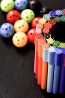stylos de couleur photo