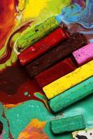 pastels à l'huile photo