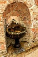 vieille fontaine à boire photo