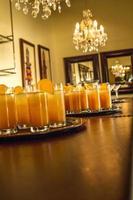 boissons froides à l'orange