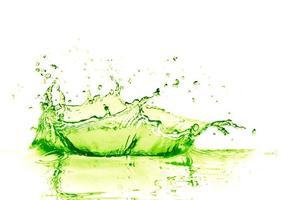 éclaboussure de citron vert