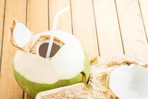 boisson à l'eau de coco