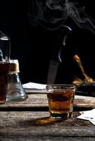scène de boisson abstraite photo