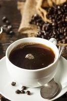boisson chaude au café noir fait maison