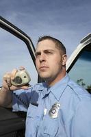 ambulancier au travail photo