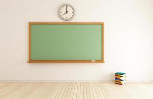 salle de classe vide photo
