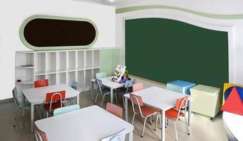 salle de classe pour enfants