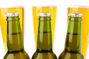 bière froide photo