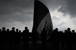 arriado de bandera photo