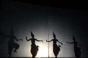silhouette d'ange photo