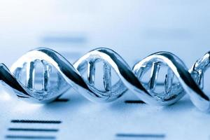 ADN, test de laboratoire moléculaire photo