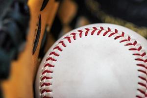 balle de baseball photo