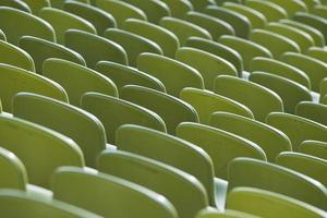 sièges d'un stade photo