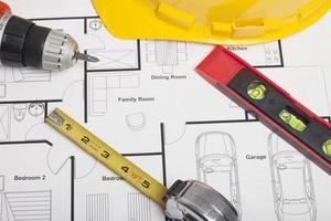plan d'architecte photo