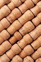 texture des bouchons de champagne photo