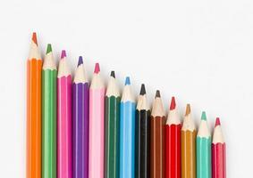 des crayons. photo