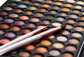 ensemble de cosmétiques colorés photo