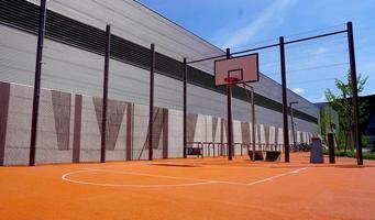 terrain de basket extérieur public photo