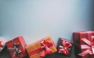 cadeaux avec copie espace. photo