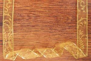bordure de cadre espace copie ruban