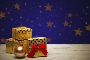 carte de Noël festive photo