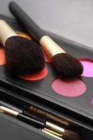 pinceaux à maquillage photo