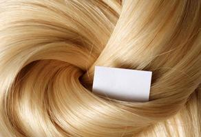 cheveux humains photo