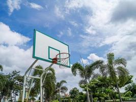 panier de basket . photo