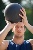 joueur de basketball photo
