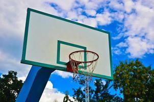 panier de basket photo