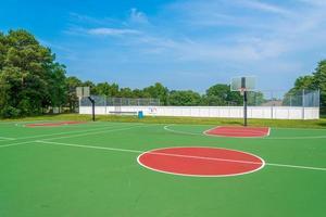 terrain de basket photo