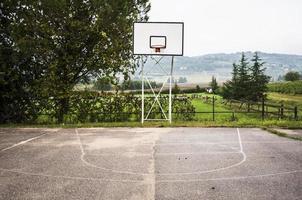 terrain de basketball photo