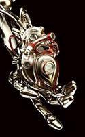 main robotique tient coeur artificiel