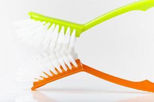 brosses à vaisselle, gros plan photo