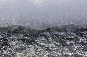 texture de gros plan de glace