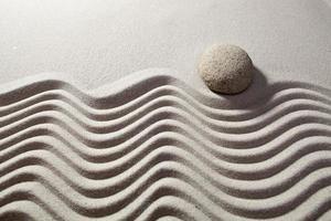 un message dans le sable pour la détente photo