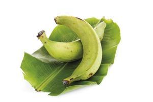 deux, plantains, gros plan