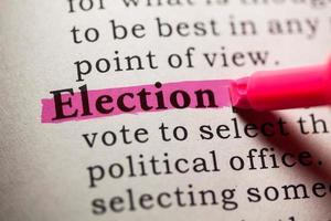 élection photo